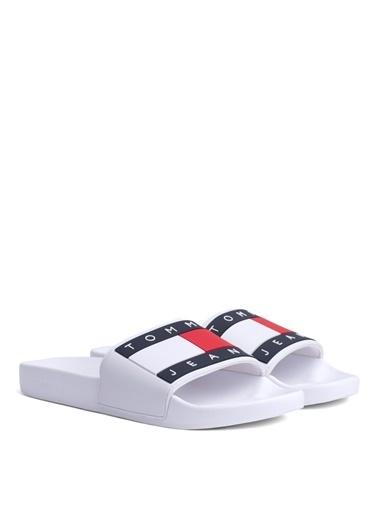 Tommy Hilfiger Sandalet Beyaz